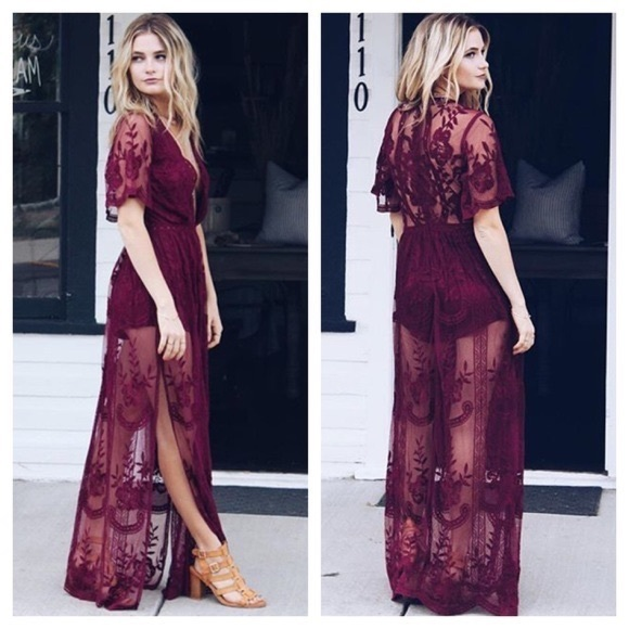 Long Dress with Shorts